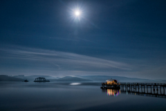 Nick\'s at Night, Tomales Bay, Marin Coast
